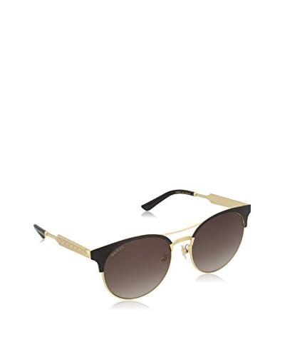 Gucci Gafas de Sol 0075S_002 (56 mm) Negro / Dorado