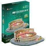 CubicFun LED 3D Puzzle Paper Model - The Colosseum (Italy), 185 pcs (Colosseum Model compare prices)