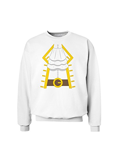 Pirate Captain Costume Gold Sweatshirt