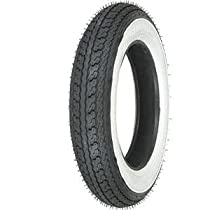 Shinko SR550 Series Tire - Front/Rear - 3.50-10 - White Wall , Tire Size: 3.50-10, Rim Size: 10, Position: Front/Rear, Tire Ply: 4, Speed Rating: J, Tire Type: Scooter/Moped XF87-4253