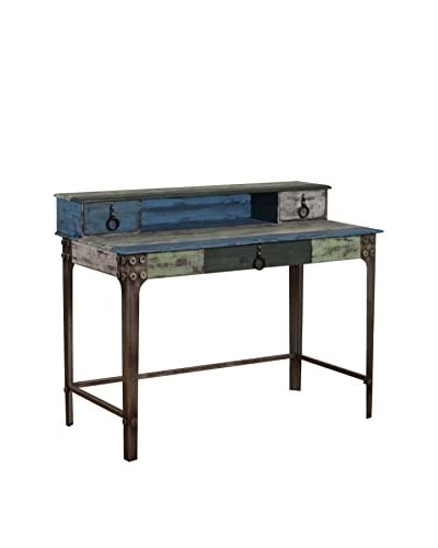 Powell Industrial Calypso Desk, Multi