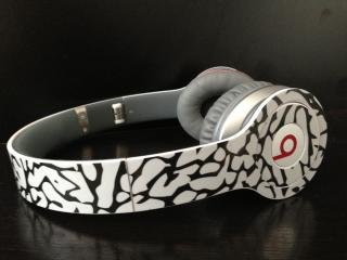 Cement Elephant Pattern Beats By Dre Solo Skin