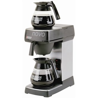Novo 2 Coffee Machine Manual water fill Two hot plates