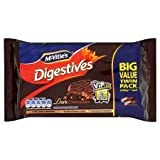 McVitie's Dark Chocolate Digestives Twin Pack 2 X 400G