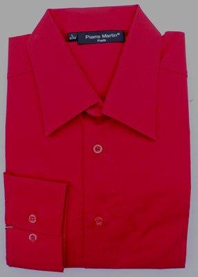 hemd rot klassischer kragen new kent herrenhemd tailliert. Black Bedroom Furniture Sets. Home Design Ideas