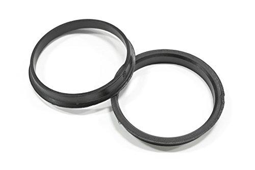 [해외]SSR 휠 스피드 스타 플라스틱 허브 반지 (쌍) 67.1mm ID 1SB2BB73671에 73.0mm의 OD/SSR Wheels Speed Star Plastic Hub Rings (Pair) 73.0mm OD to