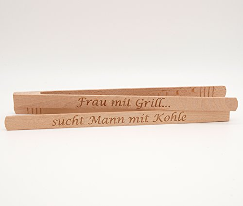 Pince pour barbecue Frau mit Grill...