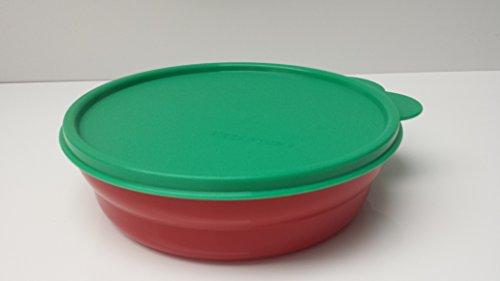 Tupperware Servierschale Wölckchen 700ml Junge Welle Schüssel mit Deckel rot grün