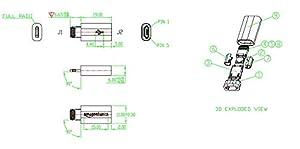 AmazonBasics Micro USB to Lightning Adapter - Apple MFi Certified (Color: Black)