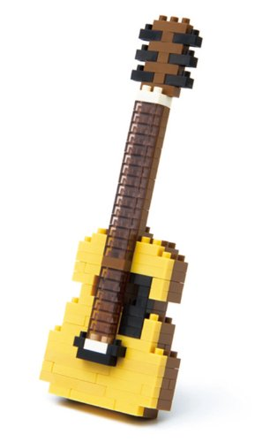 nanoblock acoustic guitar NBC-096 japan import