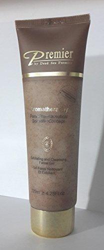 Premier Dead Sea Para-pharmaceutical Exfoliating Facial Gel, Brown, 4.25