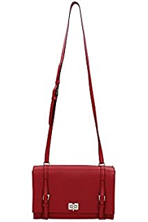 Prada Red Pochette Bag 1N1503 NECESSAIRESize : S: Amazon.co.uk ...
