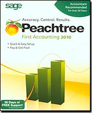Peachtree By Sage First Accounting 2010 [Old Version]
