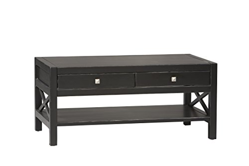 Linon Home Anna Collection Coffee Table (Coffee Table Red And Black compare prices)