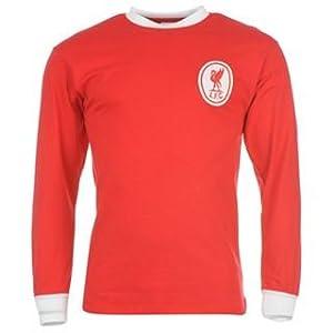 Score Draw Liverpool Fc 1964 Home Long Sleeve Shirt Men Redwhite Extra Lge