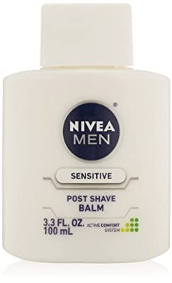 Nivea for Men Sensitive Post Shave Balm, Active Comfort System, 3.3-Ounce Bottles from Nivea for Men