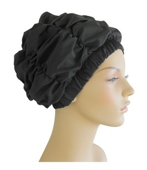 Jane Inc. Luxury Spa, Pool & Shower Cap - Black