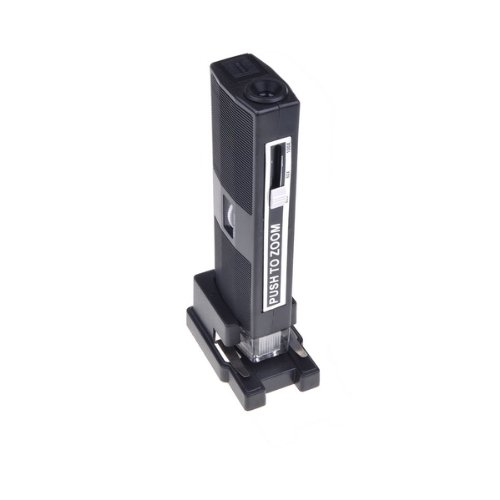 Bestdealusa 60 - 100X Zoom Pocket Illuminated Led Microscope Detachable Stand
