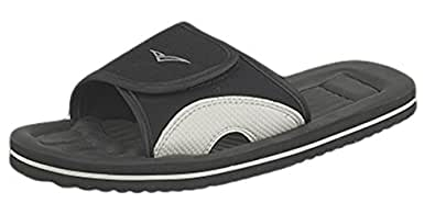 SURFER BEACH FLIP FLOP, BEACH MULE, SANDAL IN BLACK