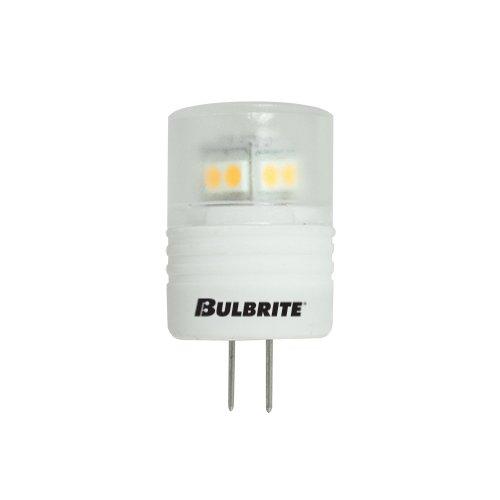 Bulbrite Led3Jc/12Ww 2.5-Watt Led Jc G4 Bi-Pin Bulb, 10W Halogen Equivalent, Soft White
