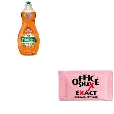 kitcpm46113eaofx00061-value-kit-office-snax-nutrasweet-pink-sweetener-ofx00061-and-ultra-palmolive-a