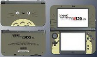 Blazers Skins - My Neighbor Totoro Cartoon Character Video Game Decal Skin New Nintendo 3DS XL (Nintendo 3ds Xl Cooking Games compare prices)