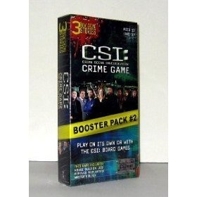 CSI: Crime Game & Boooster Pack #2 ~ 3 New Crime Stories