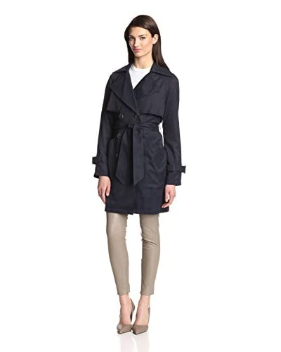 BCBG Generation Women's Draped Belted Trench