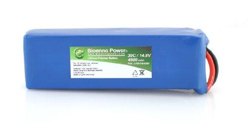 Bioenno Power Lightweight 30C, 14.8V, 4500 mAh LiPo Battery for RC Models