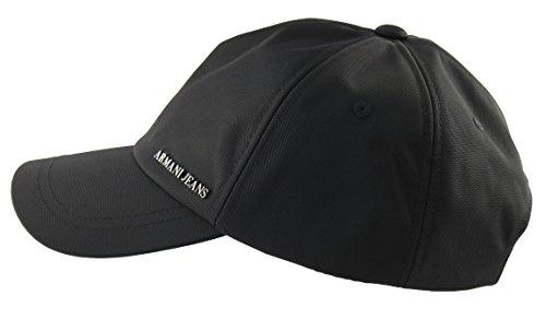 Armani Jeans -  Cappellino da baseball  - Uomo nero Taglia unica