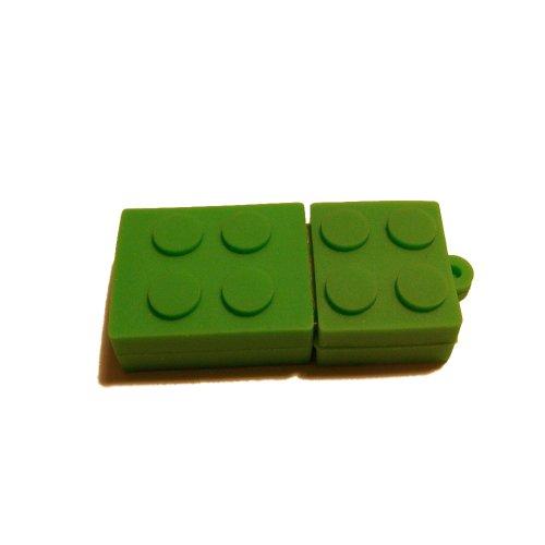 mattone-usb-stick-2-gb-32-gb-verde-verde-16-go