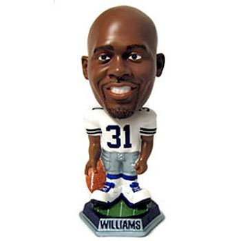 Dallas Cowboys Roy Williams Forever Collectibles Knucklehead Bobble Head at Amazon.com
