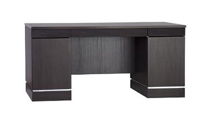 Classic Desk, 160 x 75 x 80.5 cm, Dark Oak