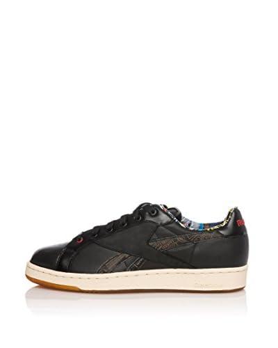 Reebok Sneaker Npc Uk Basquiat [Nero/Rosso]