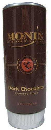 Monin Gourmet Sauces Dark Chocolate Sauce 12 Ounce