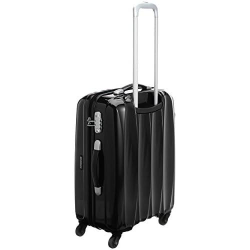 [アメリカンツーリスター] AmericanTourister Arona Lite / アローナライト スピナー65  (65cm/52L/3.5Kg) (スーツケース・キャリーバッグ・Mサイズ・TSAロック・大容量・軽量・ファスナー・保証付き)