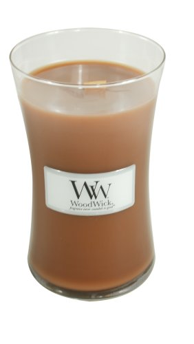 Woodwick Candle Biscotti Large Jar