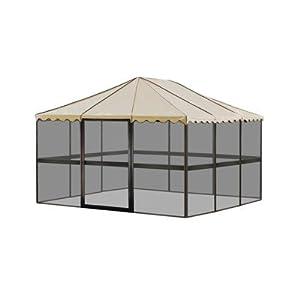 """Amazon.com: Casita Chestnut 11'7""""l x 11'7""""w Square"""