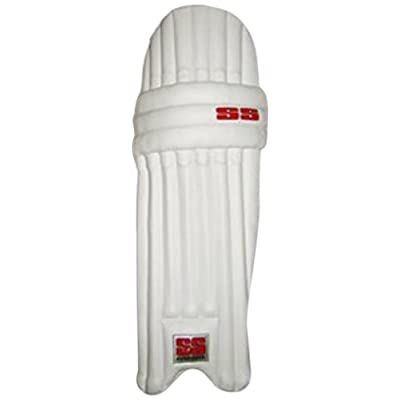 SS Club Plus Men's RH Batting Legguard (White)