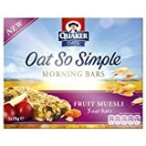 Quaker Oats Oat So Simple Morning Bars Fruit Muesli 5 X 35G