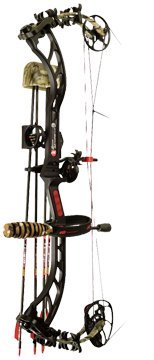 PSE Bow Madness RTS Package Right Hand 3G Bow, 60-Pound, Mossy Oak Break Up Infinity