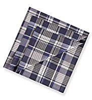 2 Pack Pure Cotton Assorted Anti-Bacterial Handkerchiefs