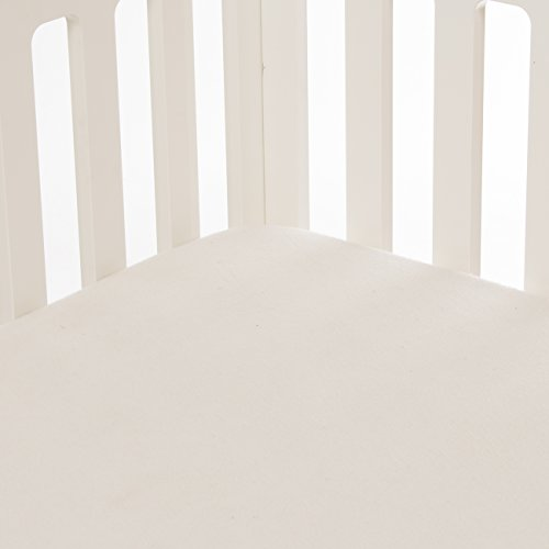 Sweet Potato Lil' Princess Softee Fitted Sheet, Cream