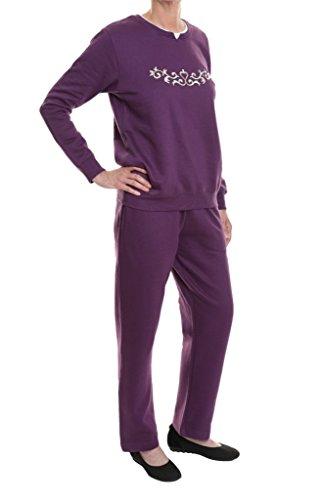 Pembrook Women\'s Embroidered Fleece Sweatsuit Set- 3XL ...