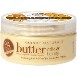 Cuccio Naturale Butter Blend Hydrating Treatment for Hand, Feet and Body, Milk & Honey
