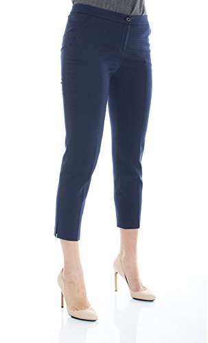 Trussardi Jeans - PANTALONE CAPRI - 56P88-48-PE16 - Blu, 44