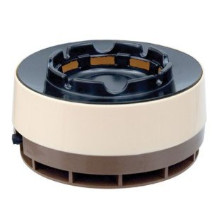Smokeless Ashtray By Handy Trends, Color Silver and Black