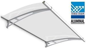 vordach lightline 1500 aluminal acrylglas klar baumarkt. Black Bedroom Furniture Sets. Home Design Ideas