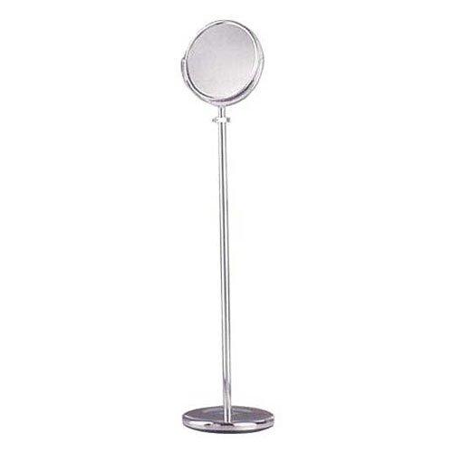 Bathroom Mirrors: Mirror- Adjustable Floor Stand - Chrome