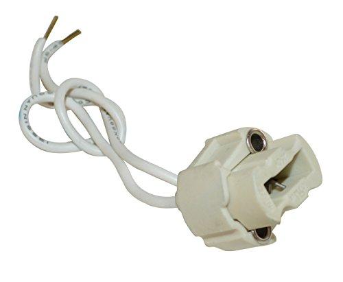 854410Fassung Halogen für Leuchtmittel mit Sockel G9weiß